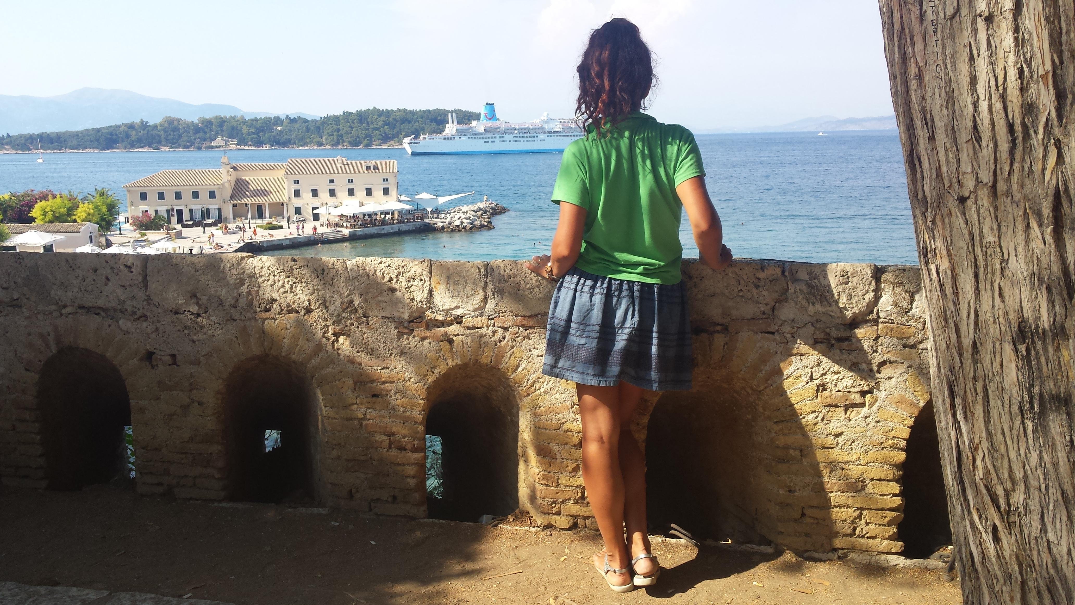 That's me - in Corfu