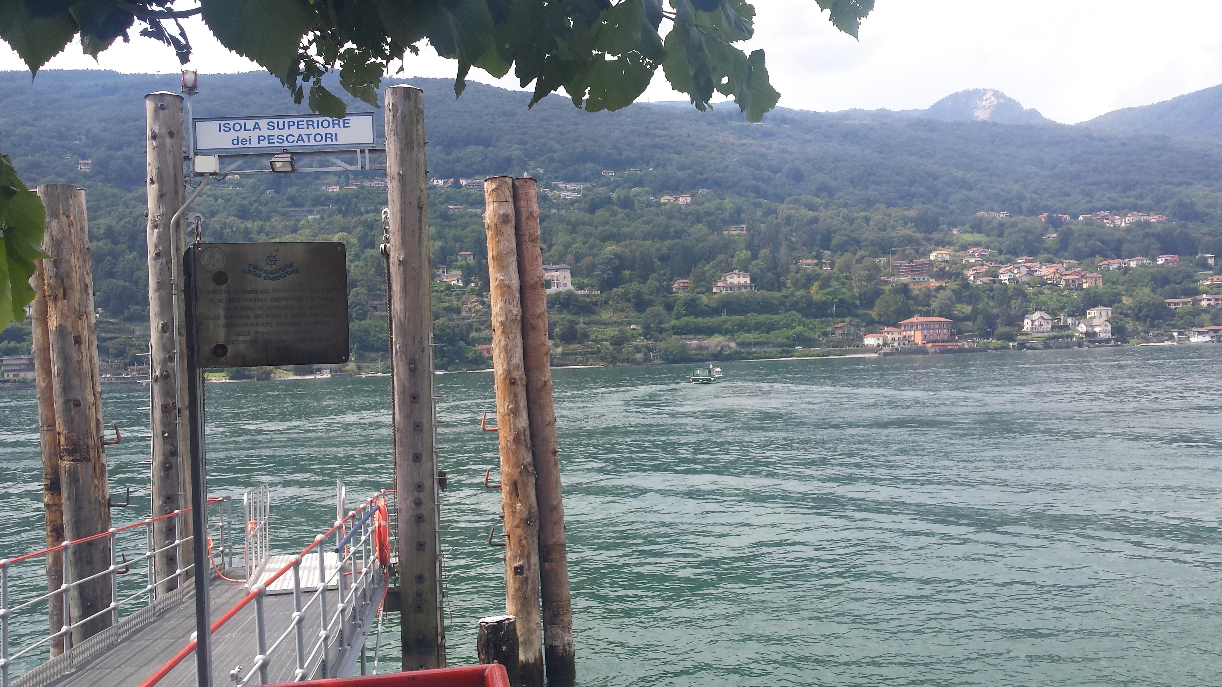 Un loc de poveste pe Insula Pescarilor, Lacul Maggiore